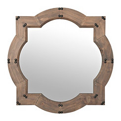 Weston Natural Wood Wall Mirror