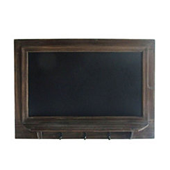 Vintage Wall Hanging Chalkboard with Hooks