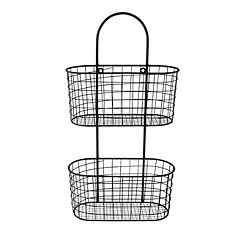 Black Wire Wall Hanging Organizer