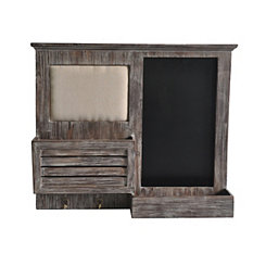 Rustic Wooden Memo Board