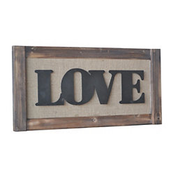 Love LED Wall Plaque