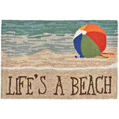 Life's A Beach Scatter Rug