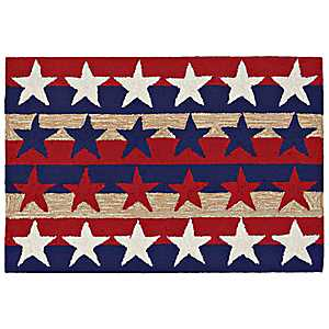 Old Glory Scatter Rug