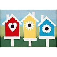 Birdhouses Doormat