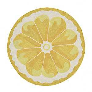Lemon Scatter Rug