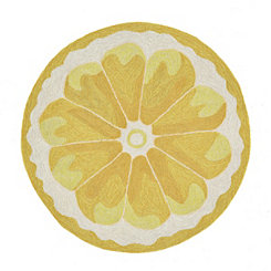 Lemon Scatter Rug