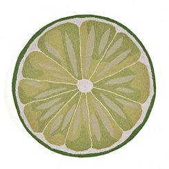 Lime Scatter Rug