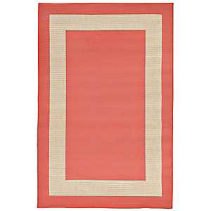 Antilles Pink Outdoor Area Rug, 5x8
