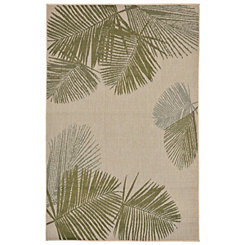 Antilles Fan Palm Area Rug, 5x8