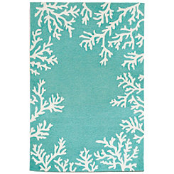 Livia Blue Reef Area Rug, 5x8