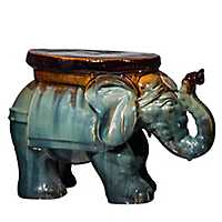 Ceramic Elephant Stool