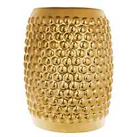 Gold Ceramic Garden Stool