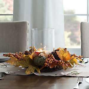 Harvest Pumpkin Leaves Mix Hurricane