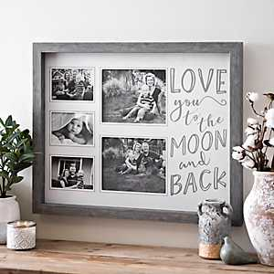 Love You to the Moon Collage Frame