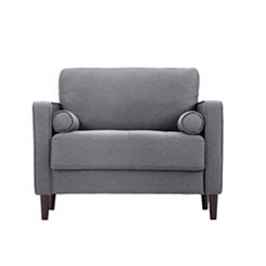 Gray Vero Large Accent Chair