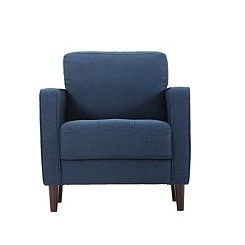 Navy Vero Accent Chair
