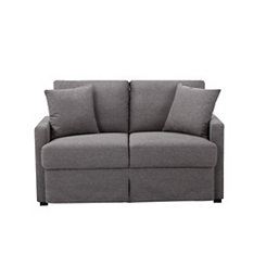 Romen Gray Loveseat