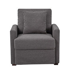 Romen Gray Accent Chair