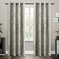 Natural Branches Curtain Panel Set, 96 in.