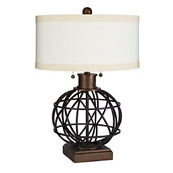 Atlas Two-Pull Table Lamp