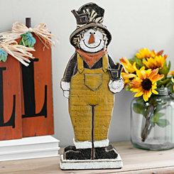 Scarecrow Boy Statue