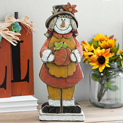 Scarecrow Girl Statue