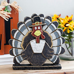 Harvest Turkey Statue