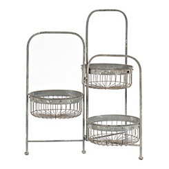 Three Tier Wire Baskets