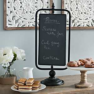 Table Top Swivel Chalkboard Sign