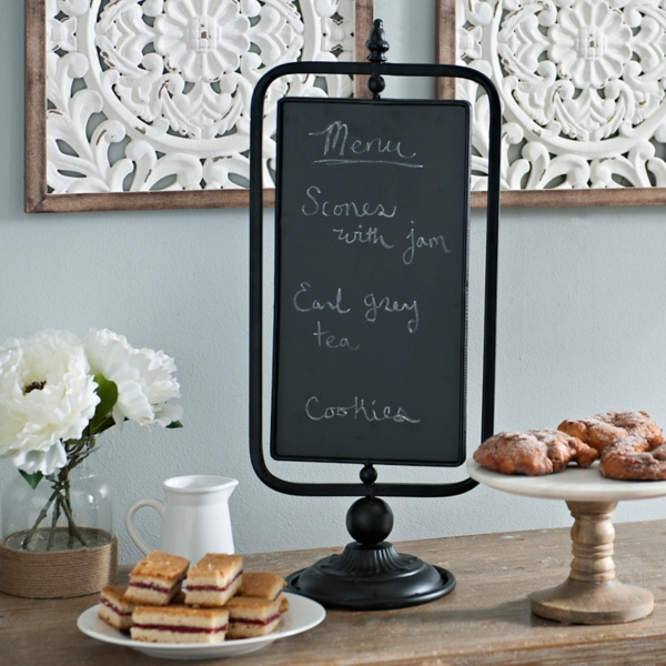 Merveilleux Table Top Swivel Chalkboard Sign