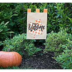 Leaf Welcome Flag Set