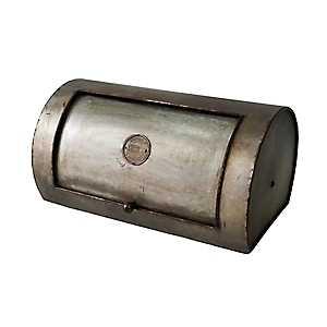 Galvanized Metal Bread Box