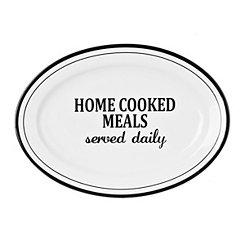 Home Cooked Meals Serving Platter
