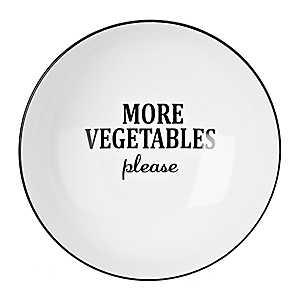 More Vegetables Please Serving Bowl