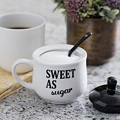 Sweet as Sugar Covered Sugar Bowl