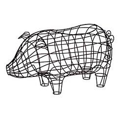 Wire Pig Basket