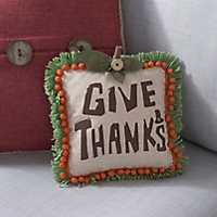 Give Thanks Harvest Pillow