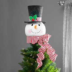Snowman Top Hat Tree Topper