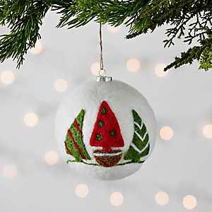Felt Ball Trees Ornament
