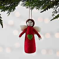 Felt Angel Ornament