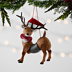 Reindeer Slinky Ornament