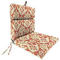 Rivoli Coral Outdoor Dining Chair Cushion