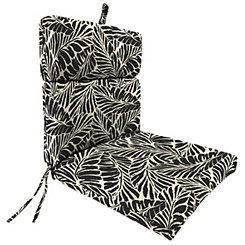 Malkus Ebony Outdoor Chaise Lounge Cushion