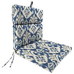 Rivoli Indigo Outdoor Dining Chair Cushion