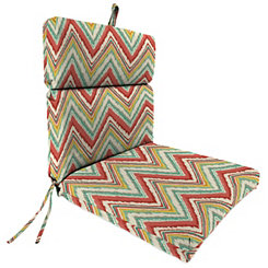 Chara Watermelon Outdoor Dining Chair Cushion
