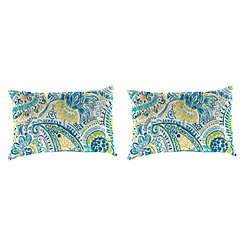 Gilford Baltic Outdoor Accent Pillows, Set of 2