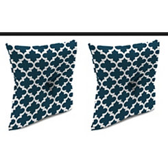 Fulton Oxford 16 in. Outdoor Pillows, Set of 2