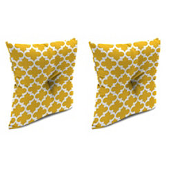 Fulton Citrus 16 in. Outdoor Pillows, Set of 2