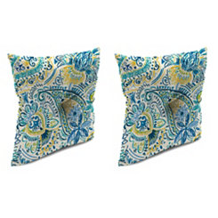 Gilford Baltic 16 in. Outdoor Pillows, Set of 2