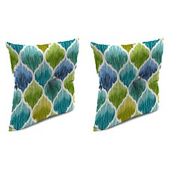 Denali Caribbean 16 in. Outdoor Pillows, Set of 2